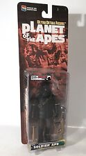 Planet Of The Apes Soldier Ape Figure Medicom Toys Black Variant Rifle 2000 Rare