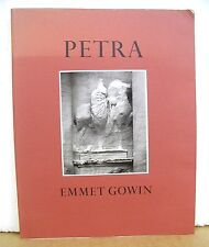 Petra - In the Hashemite Kingdom of Jordan by Emmet Gowin 1986