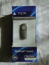 PS3 Bluetooth Headset Playstation Official Product Urban Camouflage - New