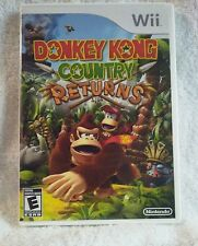 Donkey Kong Country Returns (Nintendo Wii and Wii U) Very Good Cond! Complete!