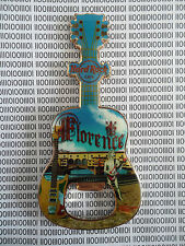 Hard Rock Cafe Florence - Michael Angelo Statue - Guitar Magnet Bottle Opener