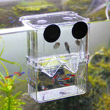 New Clear Self Floating Separating Fish Fry Breeding Divider Tank Aquarium