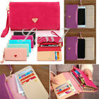 New Stylish Leather Wallet Purse Phone Case For iPhone 4S/5S Samsung Galaxy S3
