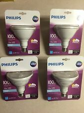 Philips LED PAR38 12-100watt Flood Light Bulb Indoor Outdoor 1200 Lumen 4 PACK��
