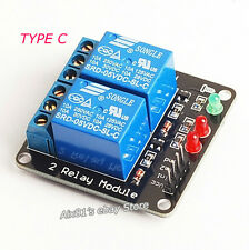 5V 2 Channel Relay Module Shield for Arduino PIC ARM DSP AVR Raspberry pi 10A