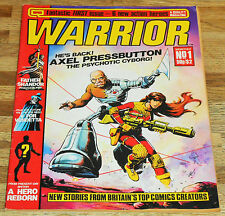 WARRIOR no.1 Quality 1982 key ALAN MOORE 1st app MIRALEMAN and V FOR VENDETTA