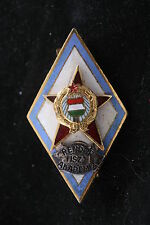 Hungary Hungarian Badge Police Officer Academy Award Badge Medal School