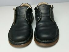 DR MARTENS BLACK LEATHER CK 041 LACE-UP OXFORDS US MENS 9 M AW004