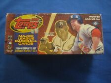 2000 Topps Baseball Complete Factory Sealed Set 478 Cards