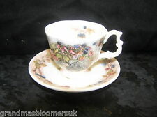 BRAMBLY HEDGE ROYAL DOULTON MINIATURE AUTUMN CUP SAUCER PLATE 1ST QUALITY LOVELY