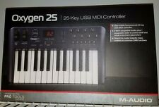 M-Audio Oxygen 25 25-Key USB MIDI Controller New in Box