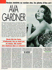 COUPURE de presse PHOTO CLIPPING  AVA GARDNER