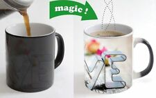Love With Rose Color Changing Magic Heat sensitive Coffee Mug valentine gift