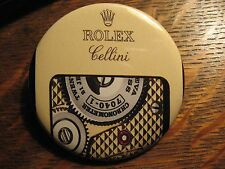 Rolex Pocket Mirror - Repurposed Magazine Cellini Watch Logo Ad Lipstick Mirror