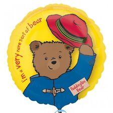 Ours Paddington 45cm Ballon Plat Pour Enfants Décoration Fête D'anniversaire