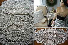lot of 100 LACE Doilies Chabby Victorian VTG Wedding Arts & Crafts project cotn