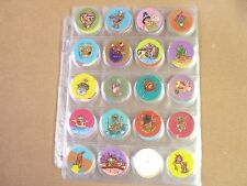 POGS/MILKCAPS SLUGS MOTION CAPS COMPLETE SET OF ALL (90)  AWESOME