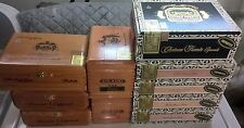 Empty Cigar Boxes Arturo Fuente Wooden Cigar Box Lot of 10 - Free Shipping