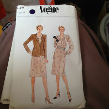 VOGUE 7817  LADIES SIZE 18  DRESS AND JACKET