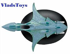 Eaglemoss Diecast Star Trek Xindi Aquadtic Cruiser #65 w/Collector Magazine