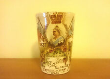 ANTIQUE QUEEN VICTORIA DIAMOND JUBILEE 1837 -1897 CUP MUG ENGLISH