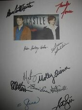 Castle Signed TV Script Nathan Fillion Stana Katic James Patterson Jones reprint