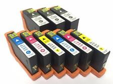 9PK Series 31 32 33 34 Ink Chip Cartridge For Dell 31 32  Inkjet V525w V725w