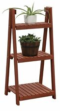 Garden Planter and Pots 3-Tier Plant Stand Flower Deck or Patio Decor