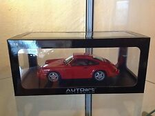 AUTOART PORSCHE 911 964 CARRERA RS TOURING ROT 1/18 - ULTRA RARE