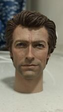 Custom 1/6 Clint Eastwood Painted Head Dirty Harry Fit Hot Toys Body no Iminime