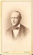 CDV photo Herrenportrait - Zürich 1880er