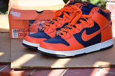 DS 2002 Nike Dunk High CO.JP size 12.5 ORANGE NAVY BLUE air sb Max Co.jp