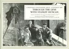 DUNCAN WILDFOWLING & PHOTOGRAPHY BOOK THROUGH THE LENS WITH STANLEY DUNCAN pbk
