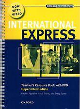 Oxford INTERNATIONAL EXPRESS Upper-Intermediate Teacher's Resource Book +DVD NEW