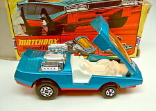 Matchbox Superking K-36 Bandolero blaumetallic neuwertig in Box
