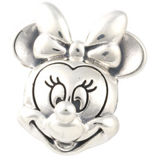 Authentic Pandora Silver Sterling Disney Minnie Face Portrait Charm 791587