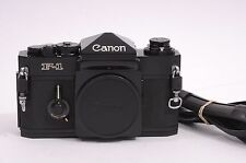 EXC++ CANON ORIGINAL F-1 BODY, CAP, STRAP, CLEAN, TESTED, TIMELESS