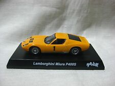 Lamborghini Miura P400S THE CIRCUIT WOLF Kyosho 1:64 Scale Diecast Model Car