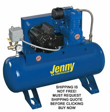NEW Jenny 60 Gallon Tank 125 Psi Electric Cast Iron Industrial Air Compressor