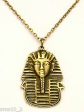 Hand Made Bronze Colour Tutankhamun Necklace HCN182