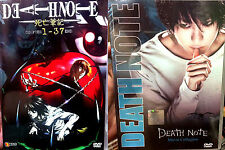 Death Note (Chapter 1 - 37 End + 3 Live Movie Trilogy) ~ 4-DVD ~English Version