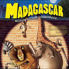 Madagascar CD soundtrack Hans Zimmer mint Ventures Earth Wind & Fire Bee Gees