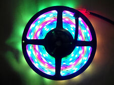 5M 5050 SMD Waterproof Flash RGB Dream Color 133 Modes 6803 IC LED Strip Light