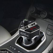 Wireless Bluetooth Car Kit MP3 Player FM Transmitter SD TF Dual USB Charge