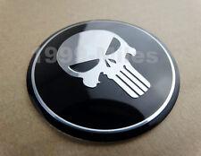 Motorcycle Skull Round Fuel Tank Fairing Decal Sticker Badge Emblem For Honda