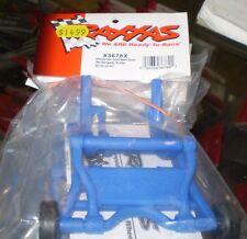 Traxxas 3678X Wheelie Bar Assembled Stampede Rustler Bandit BLUE NEW NIP