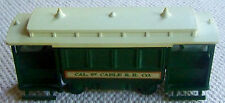 """VINTAGE AVON """"CABLE CAR""""  DECANTER. WILD COUNTRY AFTERSHAVE.  (1548)."""