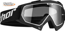 2016 Thor Enemy Adult Goggles - BLACK - Motocross Dirt Bike ATV UTV Off Road