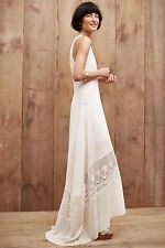 NWT $298.00 Anthropologie Estancia Maxi Dress By Plenty By Tracy Reese Sz. Large
