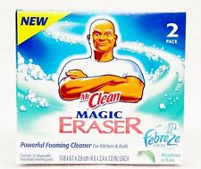 Mr. Clean Magic Eraser Kitchen & Bath Foaming Cleaner Febreze MEADOWS & RAIN